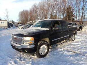 2006 GMC Sierra 1500 SLE Crew Cab 4x4 5.3 v8 great shape