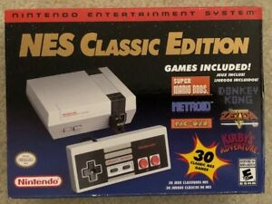 Brand New Nintendo Entertainment System NES Classic Console