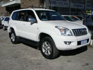 2004 Toyota Landcruiser Prado KZJ120R GXL (4x4) White 5 Speed Manual Wagon Wangara Wanneroo Area Preview