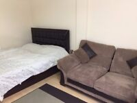 Fully furnished with double bed & sofa cum bed, near Heathrow, bath road opp KFC, all bills incl