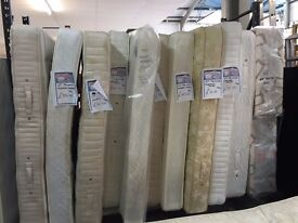 Pre-owned double and king size mattress with NEW covers