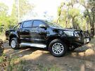2014 Toyota Hilux KUN26R MY14 SR5 Double Cab Black 5 Speed Manual Utility Kalamunda Kalamunda Area image 2