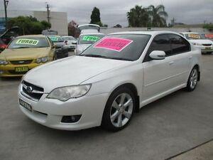 2006 Subaru Liberty MY07 2.5I Pearl White 4 Speed Auto Elec Sportshift Sedan Granville Parramatta Area Preview