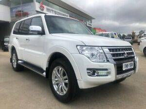 2018 Mitsubishi Pajero NX MY18 GLS White 5 Speed Sports Automatic Wagon Hoppers Crossing Wyndham Area Preview