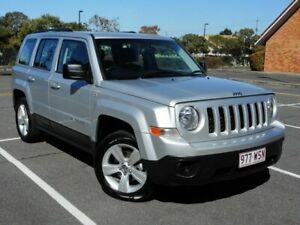 2012 Jeep Patriot MK MY2013 Sport CVT Auto Stick 4x2 Silver 6 Speed Constant Variable Wagon Chermside Brisbane North East Preview