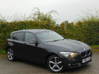 BMW 1 SERIES 2.0 116D SPORT 5d (black) 2013