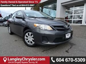 2013 Toyota Corolla LE *DEALER INSPECTED*PROFESSIONALLY DETAI...