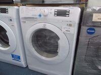 EX-DISPLAY WHITE INDESIT 9 KG 1200 SPIN WASHING MACHINE REF: 11520