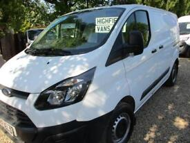 2015 Ford Transit Custom 2.2TDCi NO VAT 290 L1H1 60000 MILES GUARANTEED
