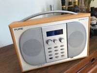 Pure EVOKE-2S FM/DAB Digital Radio - Perfect Condition