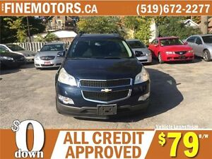 2009 CHEVROLET TRAVERSE LT * 7 PASSENGER * DVD * PANO POWER ROOF London Ontario image 4