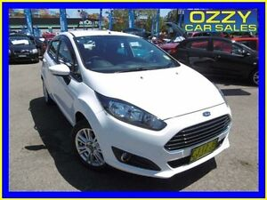 2014 Ford Fiesta WZ Trend White 6 Speed Automatic Hatchback Penrith Penrith Area Preview