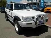 2002 Nissan Patrol GU III MY2002 ST White 4 Speed Automatic Wagon Victoria Park Victoria Park Area Preview