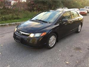 2008 Honda Civic 123731KM, Safety & ETEST for On or QC INCL.
