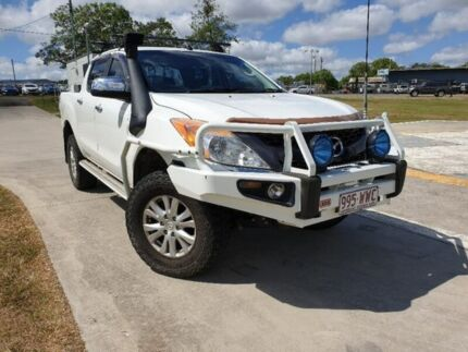 2012 Mazda BT-50 UP0YF1 XTR White 6 Speed Sports Automatic Utility Gympie Gympie Area Preview