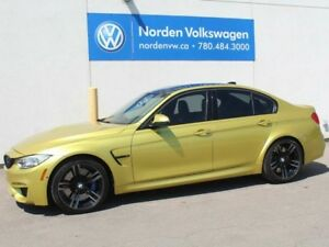 2015 BMW M3 Premium, Executive, Tech!