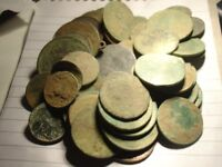 60 OLD GEORGIAN & VICTORIAN COPPER COINS