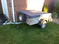 Ifor Williams P5 Small Domestic Trailer