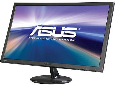 "شاشة ليد جديد ASUS VP247H-P Black 23.6"" 1ms HDMI Widescreen LED Backlight LCD Monitor"