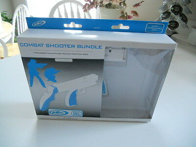 Intec Combat Shooter Bundle   Compatible With Wii   Factory Sealed