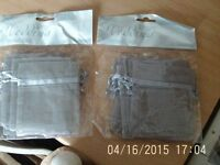 BN&Sealed - x2 Packets of Silver Wedding Favour Bags from Tesco