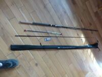 2 pc fishing rod