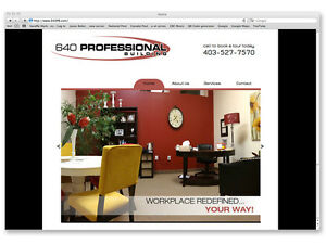 Affordable Office Space, Professional Inspiring Designs w/Grants