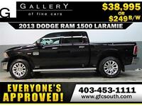2013 RAM LARAMIE LONGHORN *EVERYONE APPROVED* $0 DOWN $249/BW!