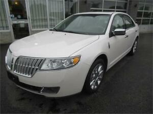 2010 Lincoln MKZ accident free/blue tooth/certified