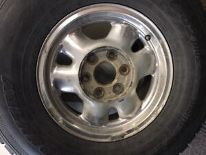 Rims 4 x 16-inch for GMC pick up
