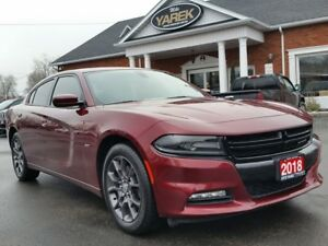 2018 Dodge Charger GT AWD, Heated/Vented Seats, Sunroof, Remote