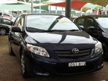 2008 Toyota Corolla ZRE152R Ascent Blue 6 Speed Manual Sedan Colyton Penrith Area Preview