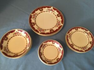 Victorian Lindsey Johnson Bros. Dinnerware