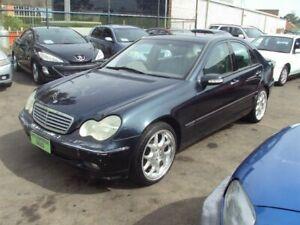 2001 Mercedes-Benz C320 W203 Elegance Blue 5 Speed Auto Tipshift Sedan Punchbowl Canterbury Area Preview