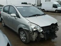 TOYOTA COROLLA VERSO 2.2 DIESEL 2006 BREAKING FOR SPARES TEL 07814971951 HAVE FEW IN STOCK
