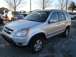 2004 HONDA CRV -  EXL * AWD * LEATHER * HEATED SEATS * SUNROOF