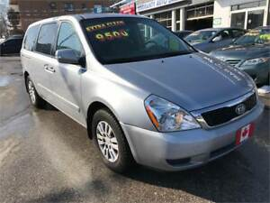 2011 Kia Sedona LX...STOW-N-GO..PERFECT COND...ONLY $8800.