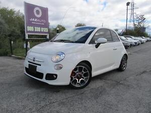 "2012 FIAT 500 Sport ""LEATHER', BOSE SOUND, SUNROOF, BLUE-TOOTH"