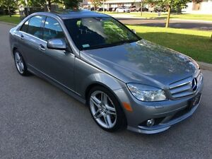 2009 MERCEDES BENZ C350 4MATIC AMG PKG/SUN ROOF/BLUTOOTH
