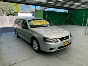 2006 Ford Falcon BF Mk II XT Silver Sports Automatic Wagon Croydon Burwood Area Preview