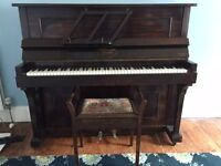 Hartley and Son upright piano