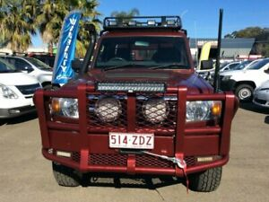 2013 TOYOTA LANDCRUISER GX MAUNAL 4X4 LOW KMS STEEL TRAY WITH BOX BULL BAR 3YEARS WARRANTY TWO RADIO Lansvale Liverpool Area Preview