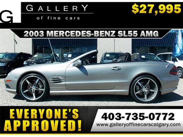 Used 2003 Mercedes-Benz SL-Class
