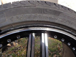 Zinith Rims with like new Westlake tires 95%tread remaining!! Edmonton Edmonton Area image 2