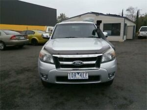 2011 Ford Ranger PK XLT (4x4) Silver 5 Speed Automatic Dual Cab Pick-up Traralgon Latrobe Valley Preview