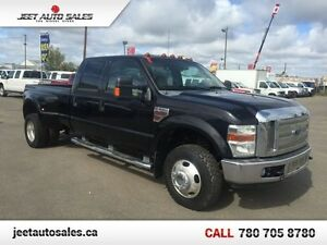 2008 Ford F-350 Lariat 4x4 Crew 8 Ft Box Dually Diesel