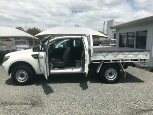 2014 Ford Ranger PX XL 3.2 (4x4) White 6 Speed Manual Super Cab Pick-up Gloucester Gloucester Area Preview