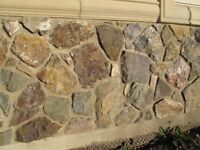 Exterior/Interior Real Veneer Stone for Homes or cottages