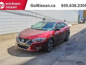 2018 Nissan Maxima Platinum: PREMIUM ASCOT LEATHER, HEATED.COOLE