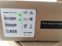 10 BRAND NEW Yealink Ultra-elegant Gigabit IP Phone SIP-T42G